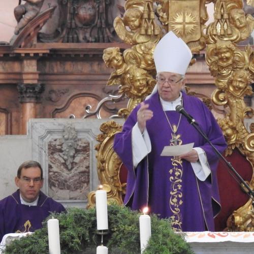 Prisluhni uvodu, pridigi in prošnjam svete maše v koprski stolnici