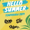 Dj Locks Ft Dj Elio & Dj Gean -  Hello Summer 2019 (Reggaeton, Latin, Salsa, Trap, Dance) Portada del disco