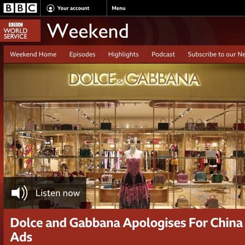 Aowen Jin talks Dolce & Gabbana