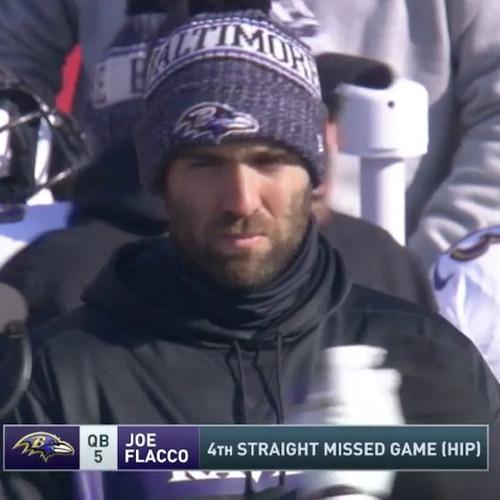 """Joe Flacco Has Quarterbacked His Last Game as a Raven!"""