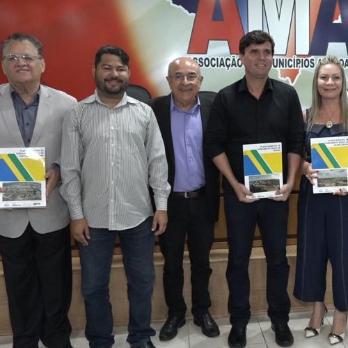 Cinco municípios recebem plano de Saneamento básico na AMA