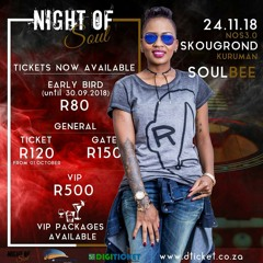 #NightOfSoul LIVE with SoulBee