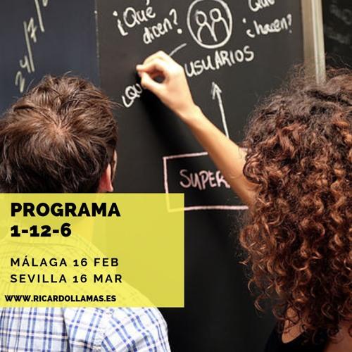 #37 Programa 1 - 12 - 6 : Formación Disruptiva Para Profesionales Inconformistas