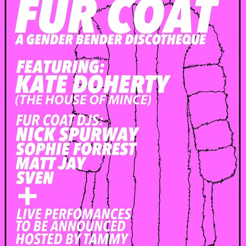 Kate Doherty Fur Coat Promo