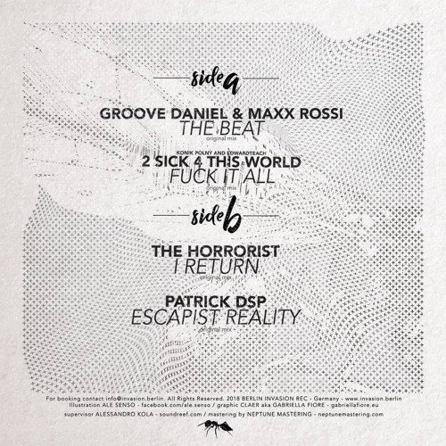 Patrick DSP - Escapist Reality ***Vinyl Release***