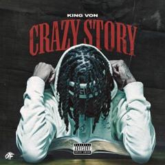 King Von - Crazy Story Instrumental | ReProd. By @_KingLeeBoy