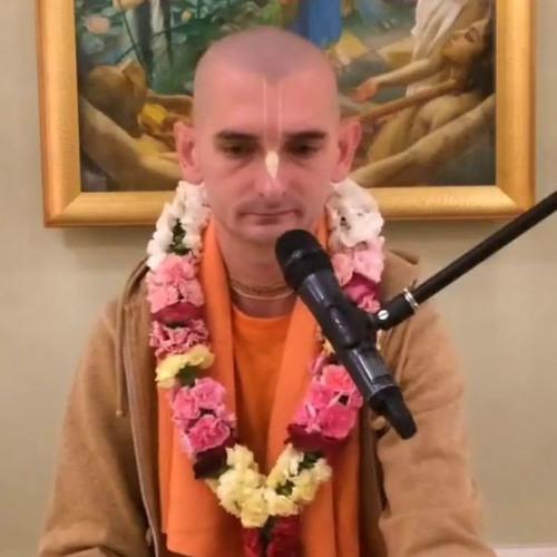 Śrīmad Bhāgavatam class on Wed 12th Dec 2018 by Jananda Dāsa 4.17.34