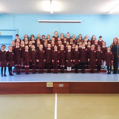 St. Columba's National School Choir, Glasnevin Co. Dublin // Infant Holy, Infant Lowly