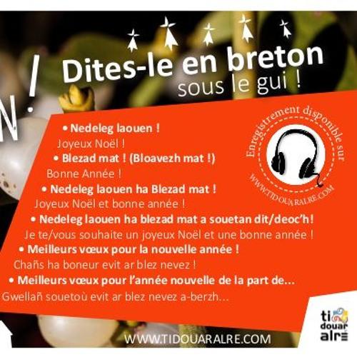 Dites le en breton ! Nedeleg e Brezhoneg !