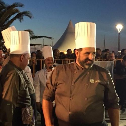 Carlos Méndez- chef de la paella gigante de Piriápolis