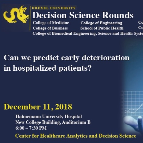 Decision Science Rounds December 11 2018