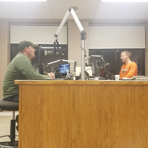 Aaron Rose joins the Roseau Rams Coaches Show