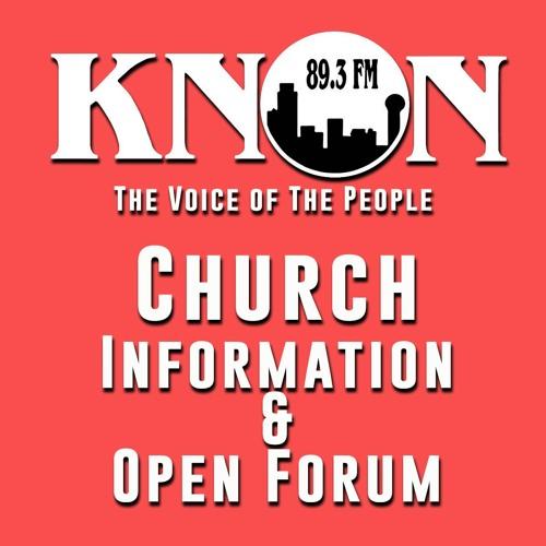 Church Information & Open Forum