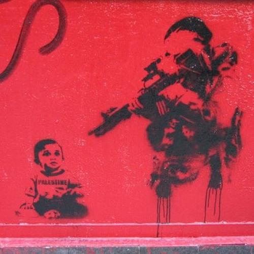 Palæstinensiske børn bag israelske tremmer
