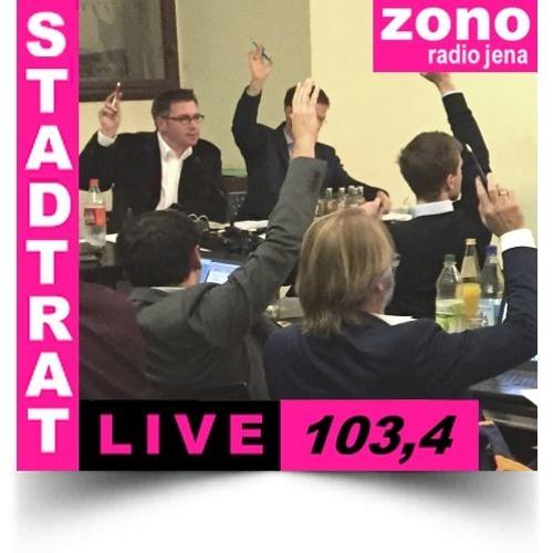 Hörfunkliveübertragung (Teil 1) der 50. Sitzung des Stadtrates der Stadt Jena am 12.12.2018