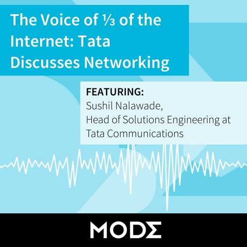 The Voice of 1/3 of the Internet: Tata Discusses Networking
