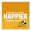 Marshmello ft. Bastille - Happier Instrumental Cover (Vocal OFF)