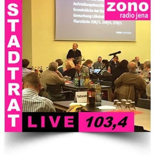 Hörfunkliveübertragung (Teil 3) der Fortsetzung 50. Sitzung des Stadtrates der Stadt Jena