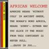 AFRICAN WELCOME: La Musique De L'Afrique.