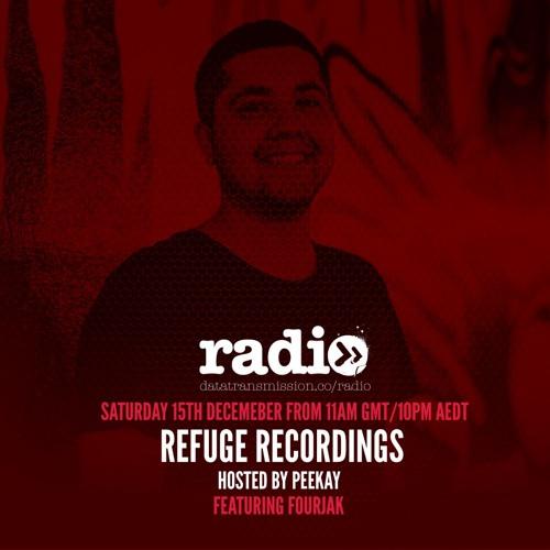 Refuge Radio on Data Transmission