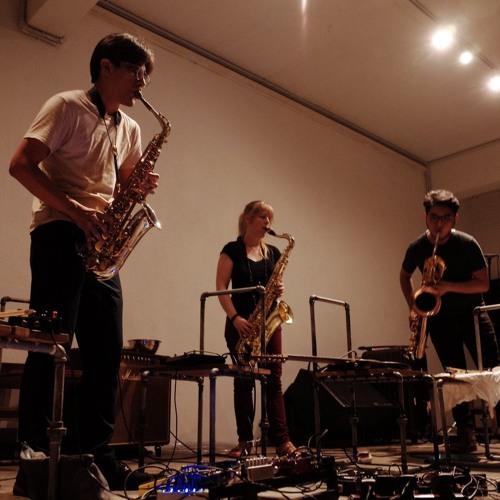 Saxophone Trio Improv at KLEX 2018