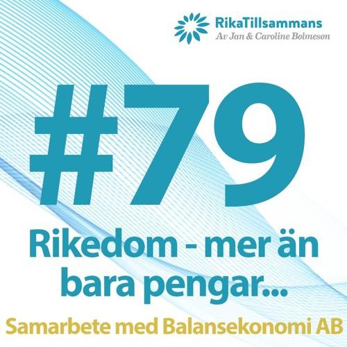 #79 - Rikedom är mer än bara pengar | Intervju med Charlie Söderberg, Balansekonomi AB