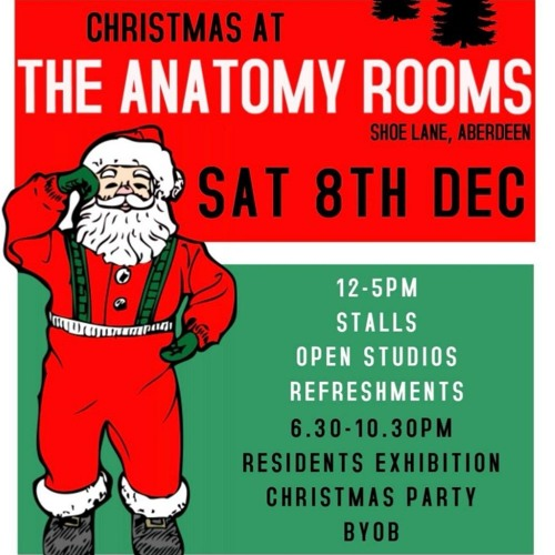 Episode 43 Christmas Ramblings from The Anatomy Rooms