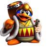 King Dedede has a gun