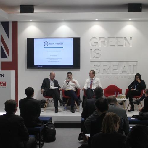 COP24 Global Coal Report Launch - Powering Past Coal - UK Pavilion