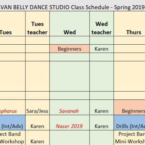 Karavan Spring 2019 Choreography Music