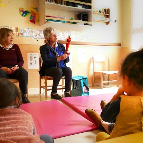 Ressac Volontariat : les bons contes entre les générations