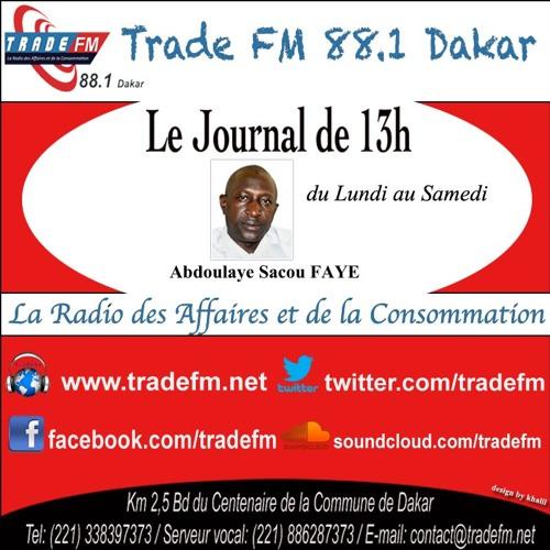 Le Journal De 13H Abdoulaye Sacou FAYE Du 17 Décembre 2018