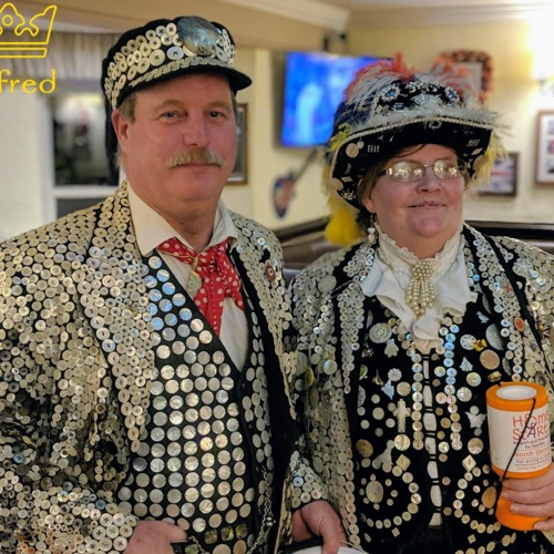 Pearly KIng And Queen Visit Shaftesbury