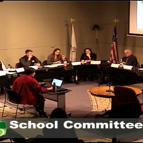 Greenfield School Committee Meeting December 12, 2018