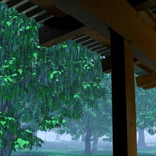Rain Sounds On Tin Roof 75 Minutes By Relaxing White