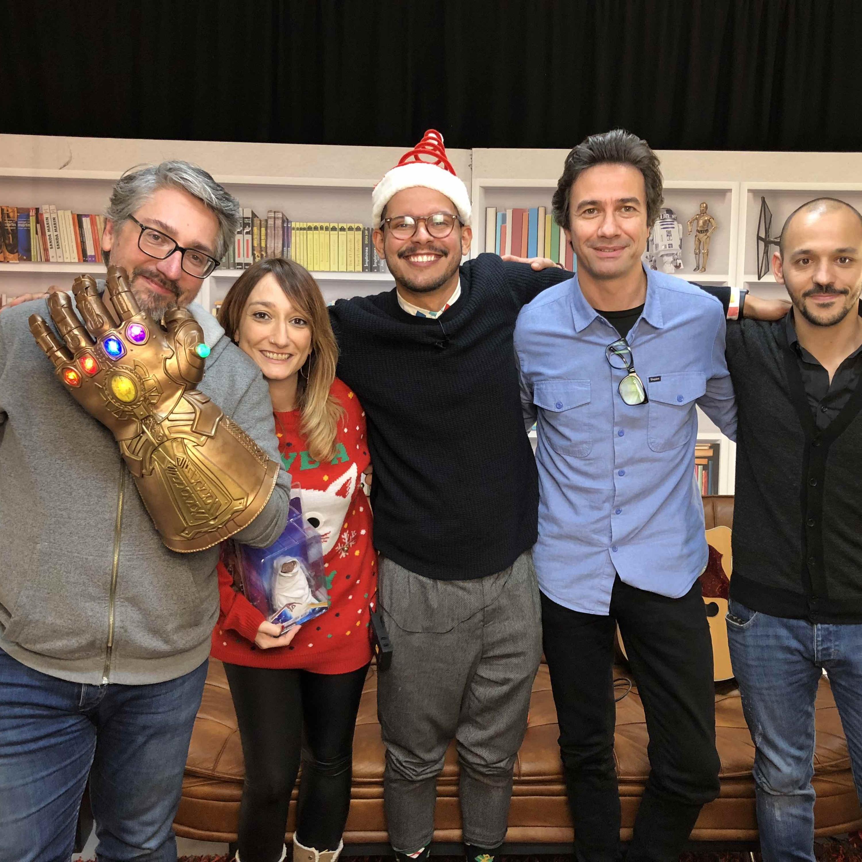 Ep. 10: Especial de Natal: Barbie Vs Prisão de Ventre | Ana Markl, David Fonseca, Humberto Marques