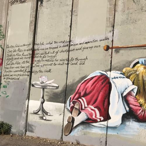 Ep# 103--(Bethlehem, Palestine)—Using Art to Break Down Walls