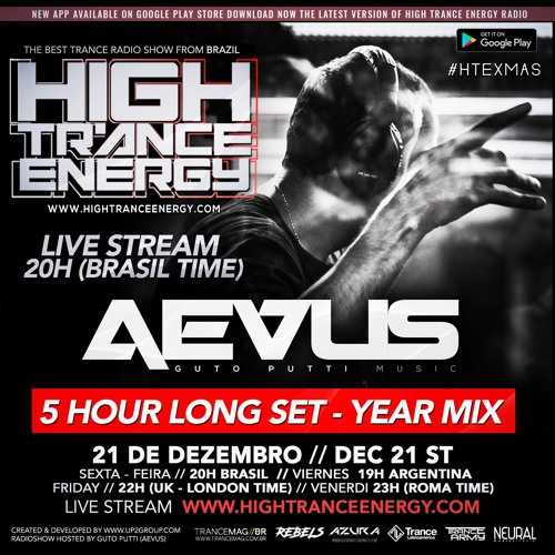 Aevus - YEAR MIX SPECIAL - 5 Hour LONG SET #HTEXMAS EDITION