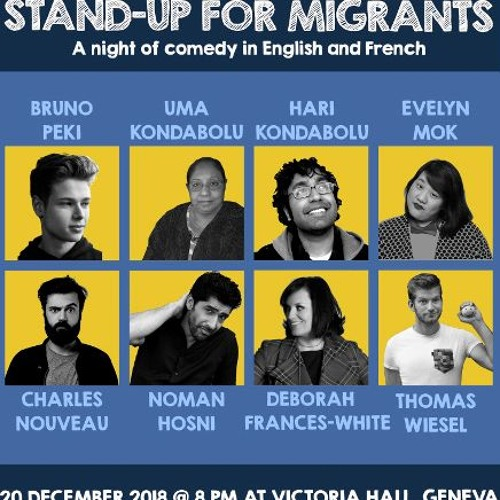 Stand-Up For Migrants Comedy Event