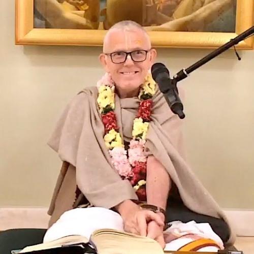 Śrīmad Bhāgavatam class on Wed 19th Dec 2018 by Atul Kṛṣṇa Dāsa 4.18.9-10