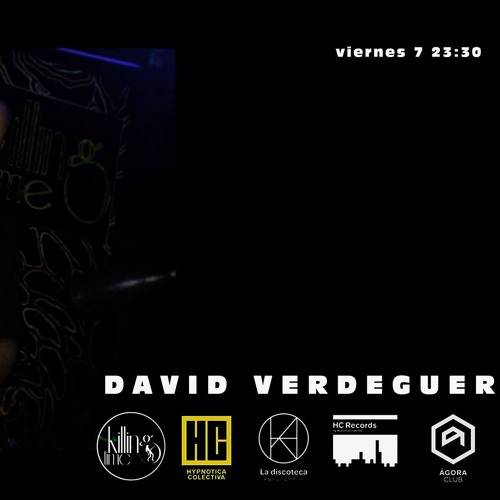 David Verdeguer Kiling Time Viernes 7 - 12 - 18 Cd - 1