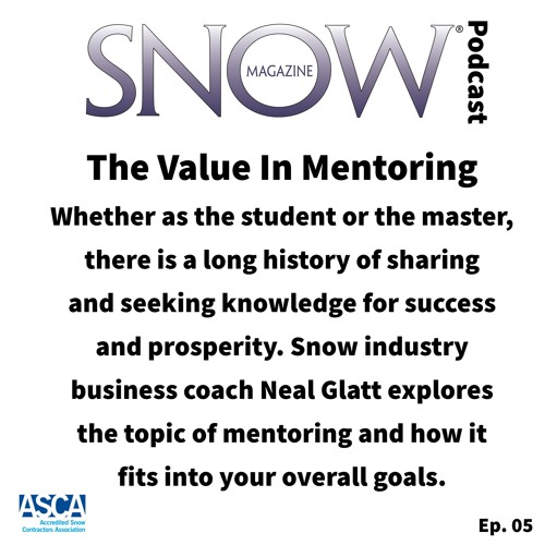 The Value In Mentoring