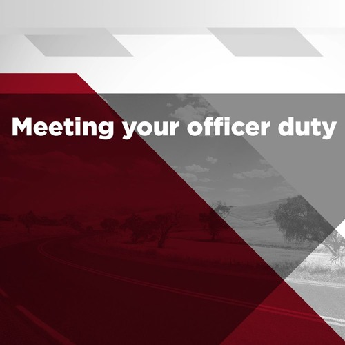 Meeting your officer duty