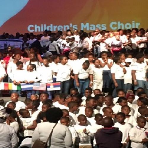 African Children Singing Us Into Pentecost