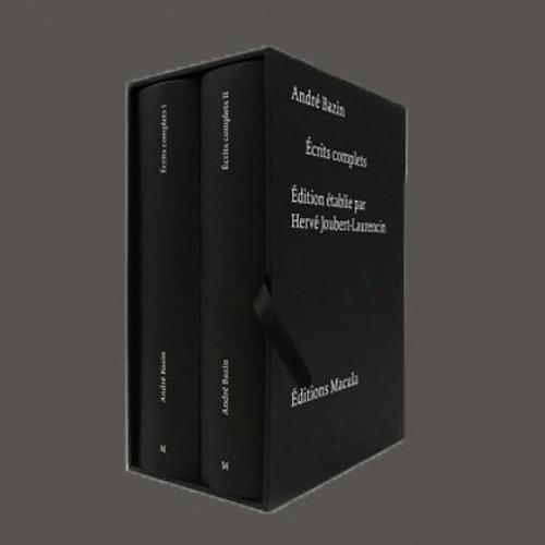 """Hervé Joubert-Laurencin, """"Écrits complets"""" d'André Bazin, Éd. Macula"""
