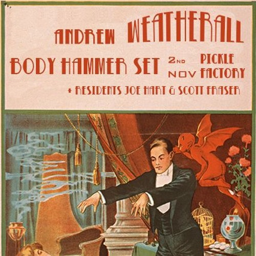 Andrew Weatherall at Bodyhammer 2nd Nov 2018 Pickle Factory