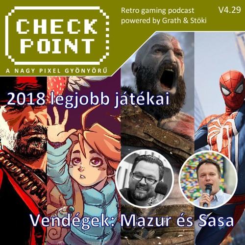 Checkpoint 4x29 - 2018 legjobb játékai