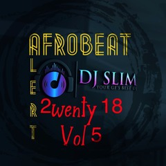 Dj Slim Afrobeat Alert 2wenty 18  Vol 5