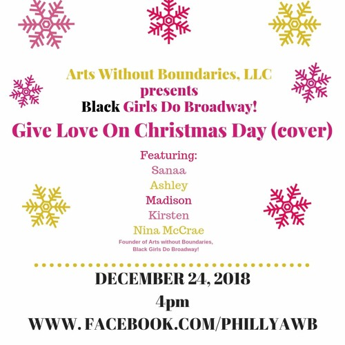 Give Love On Christmas Day.Give Love On Christmas Day Awb Edition 106 1 131 6 By