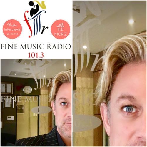 FMR 101.3FM interview with Ike Moriz 21.12.2018(presenter: Hadley Tituss)